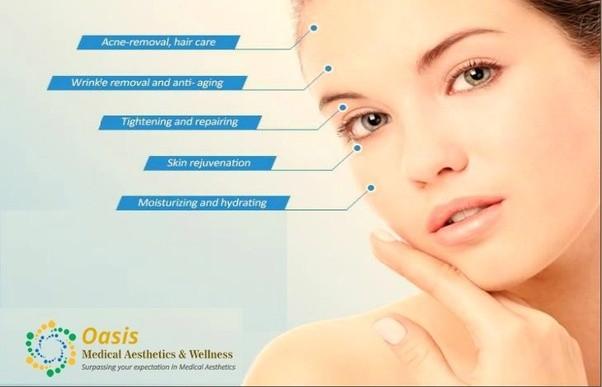 At home facial rejuvenation