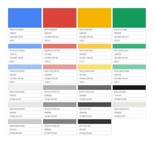 how to change the colour of google logo