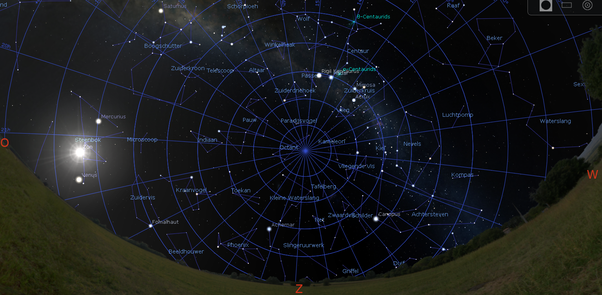 in the northern hemisphere some constellations are always the same