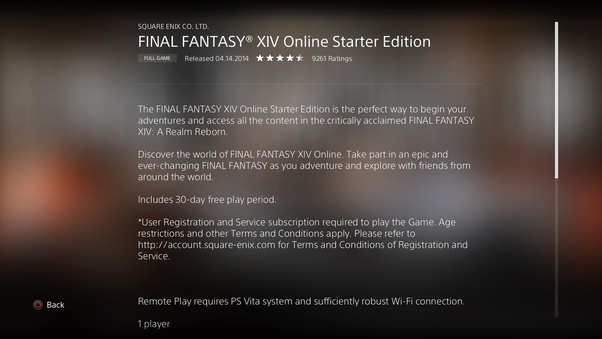 Do you need PlayStation Plus to play Final Fantasy XIV
