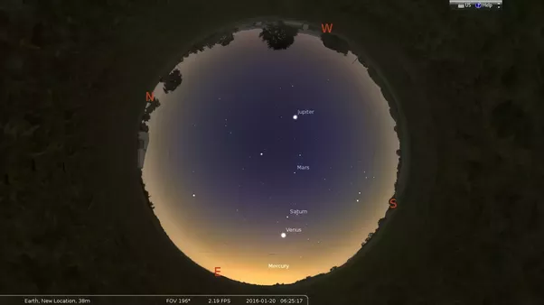 Which planets can be seen with the naked eye? - Quora