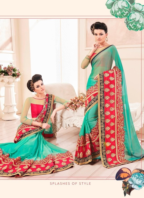 You Can Refer More Blouse And Saree Color Combinations In The Link Indian Wedding