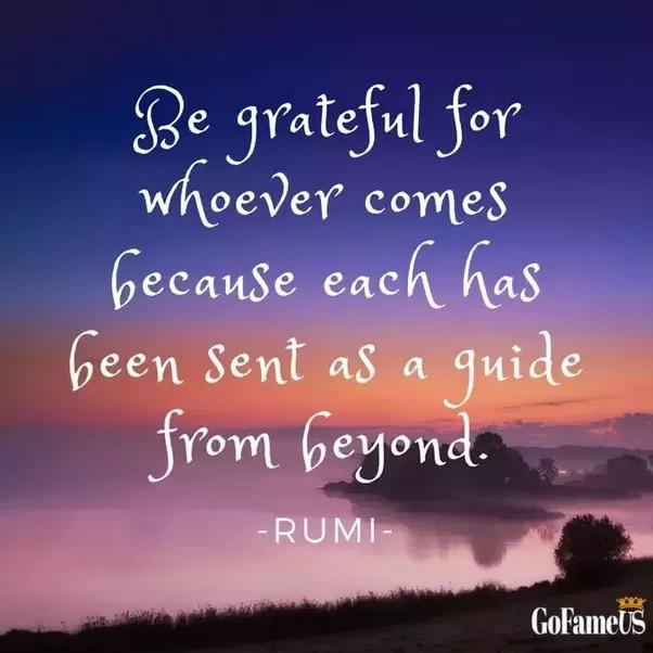 Good Morning Quotes Quora : What are the best rumi quotes quora