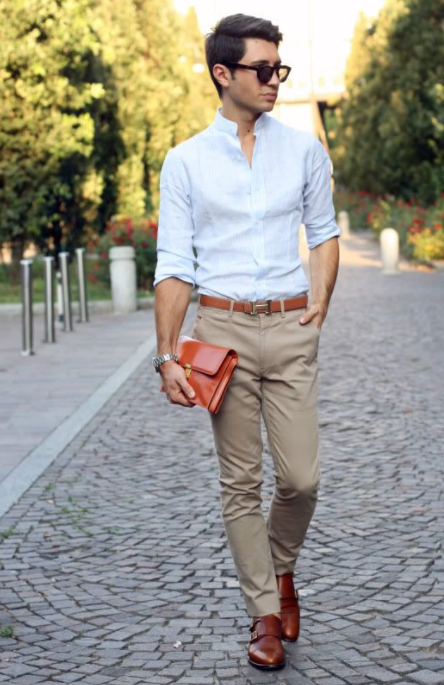 Black Monk Strap Shoes Outfits