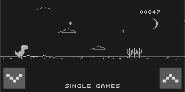 No Internet Dinosaur Game Meme