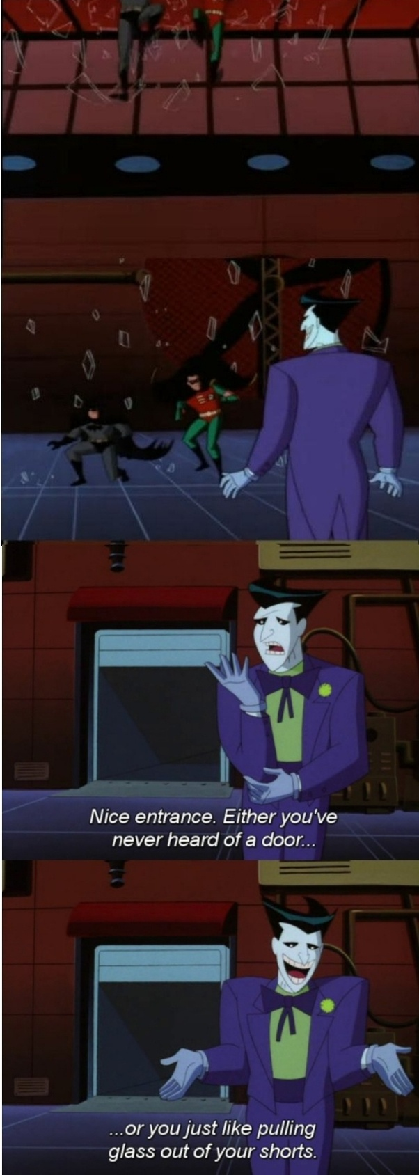 Is The Joker Ever Actually Funny Or Is The Humour Only Apparent To