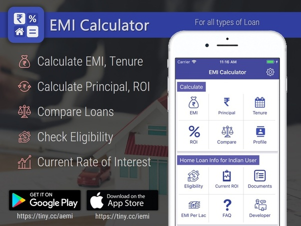 how to calculate the principal component and interest component of