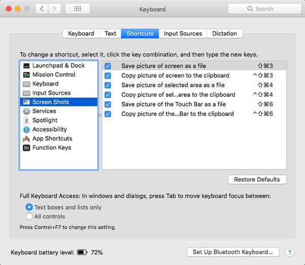 how do i use snip tool on mac