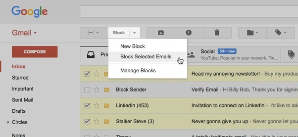 How to block someone on Gmail - Quora