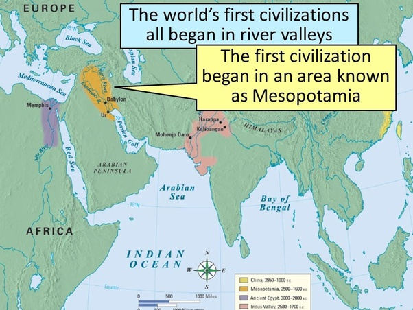 Which was the first river civilization in world? - Quora