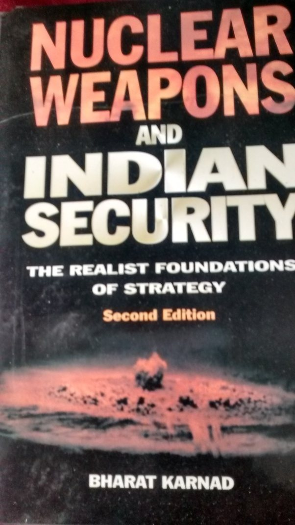 Which are the best books to read about the indian army or the indian should be in times to come having met dr karnad myself he is an ocean of knowledge on the nuclear warfare stuff dr karnad was in the drafting fandeluxe Image collections