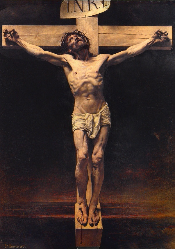 What does 'INRI' mean on a cross or crucifix? - Quora
