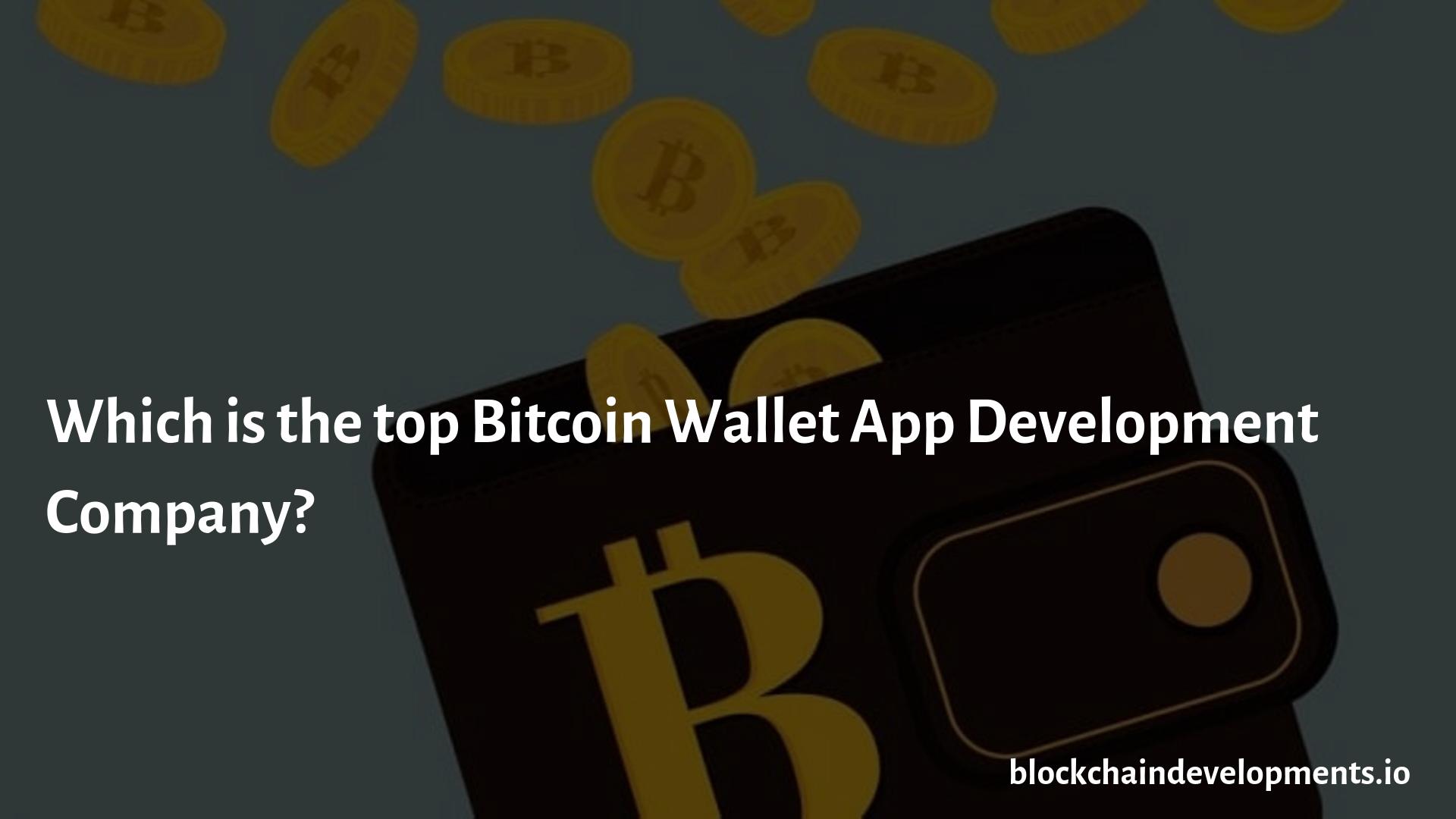 bitcoin wallet top