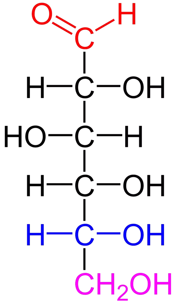 What is the open chain structure of glucose? - Quora