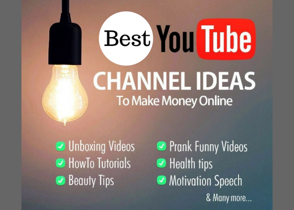 What are some good ideas for a YouTube channel? - Quora