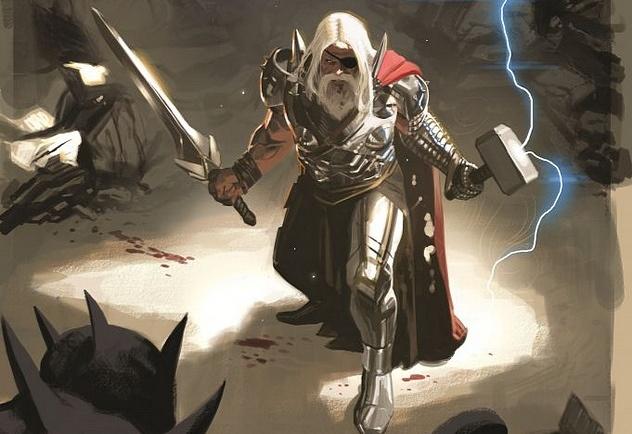 Future (Old) Thor. (Fonte: Marvel Comics)