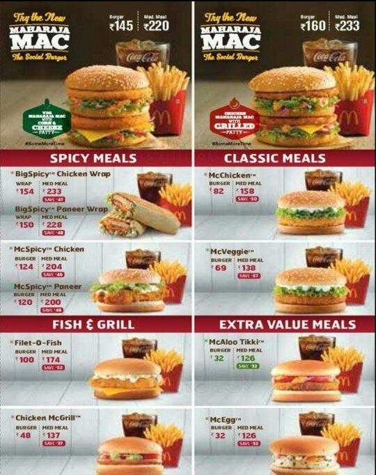 mcdonalds in india The north and east india licensee of mcdonald's, connaught plaza restaurant   there is much to be learned from the food service company,.