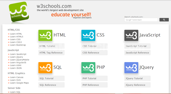 Which Is The Best Online Tutorial To Learn Html5 And Css3 With