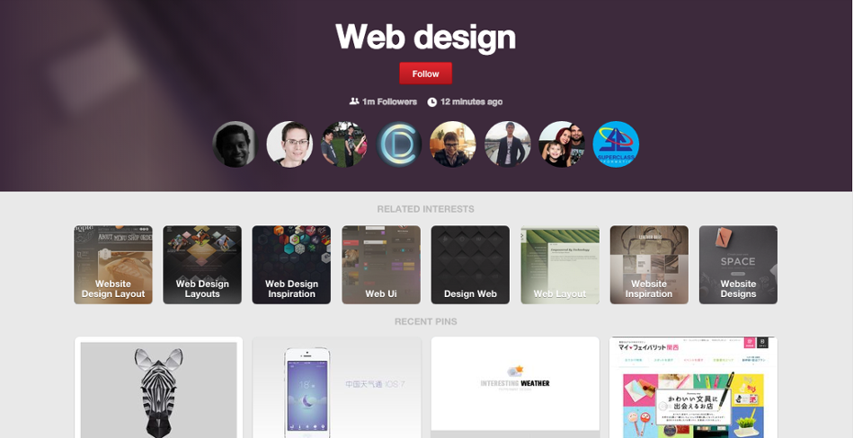 What are the best places to find inspiration for web design