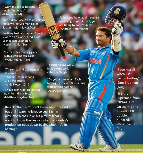 100 Famous Quotes On Sachin TendulkarThe God Of Cricket 1