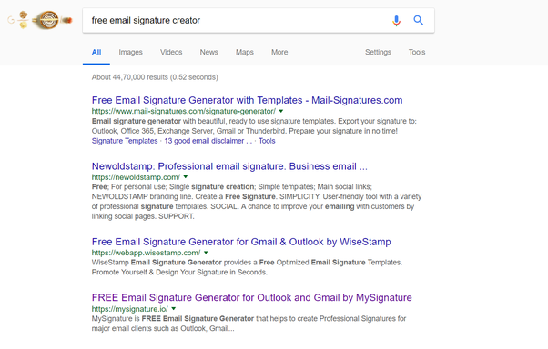 what is the easy process to add a signature while using gmail quora