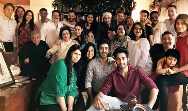 All In Looks Like Everyone Is Related Some Way Or The Other Bollywood