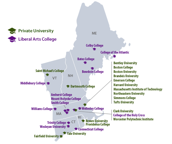 colleges in new hampshire map Why Are People In Rural Areas In New England Very Liberal colleges in new hampshire map