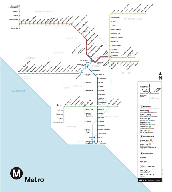Current La Subway Map.Do You Feel Los Angeles Has A Bad Metro System Quora