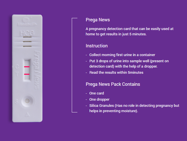 How to use a pregnancy test kit - Quora
