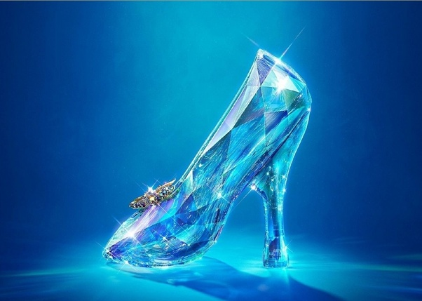 Everything Cinderella used for the ball was transformed back to its original state after 12, except for the shoes.