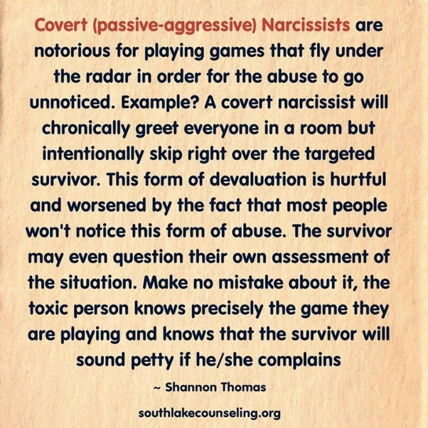 Have you been involved with a covert narcissist? How can you