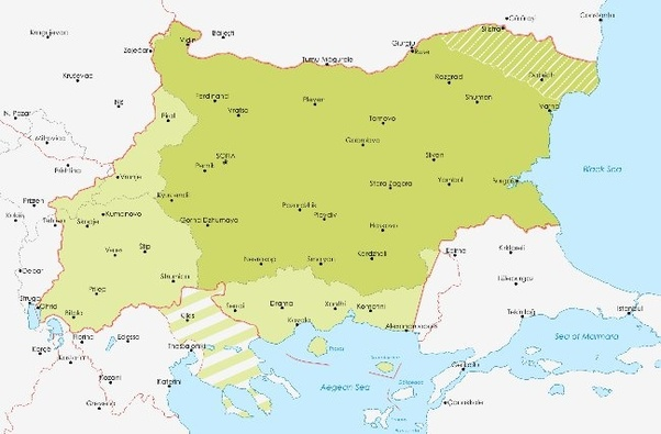 What were the effects on bulgaria after world war one quora the lighter green area of the map show what bulgaria had gained after the first balkan war these areas infringed on bulgarias allies wished territories gumiabroncs Image collections