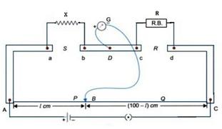 Meter Bridge Circuit Diagram | What Is The Construction Of Metre Bridge Quora