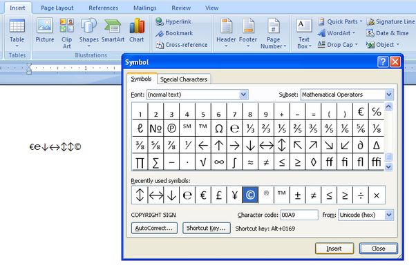 How To Type Or Get The Standard Deviation Symbol In Ms Word Quora