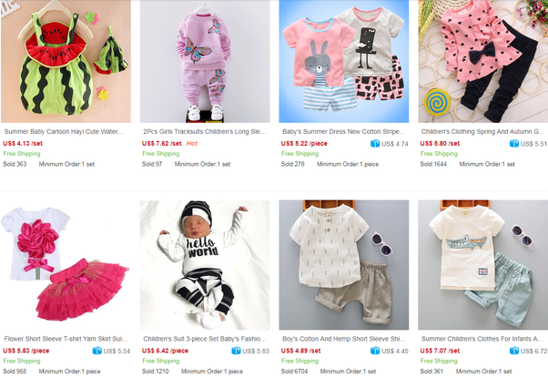 54fba80db It's a professional B2B platform to wholesale clothing in China since 2003.  Wholesalers can order cheap baby clothes directly from Chinese factories.