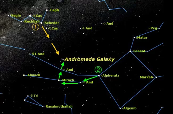 Can you find the Andromeda Galaxy with the naked eye? - Quora