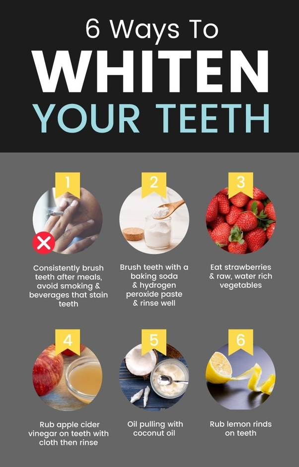 how to whiten your teeth without bleach