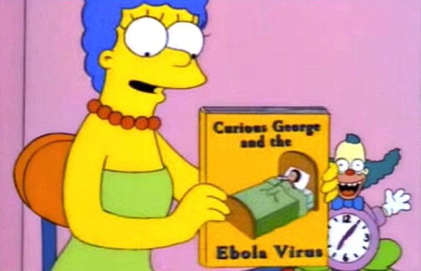 Was the Ebola virus created? If not, how did the Simpson cartoon ...