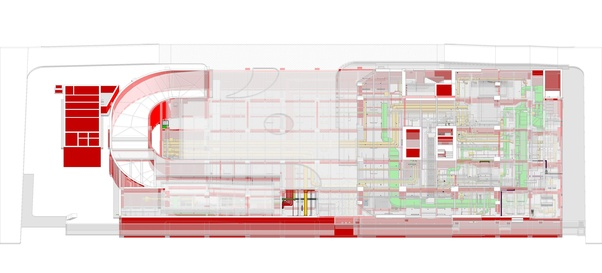 What is the method of converting 2D CAD drawings into a 3D BIM model