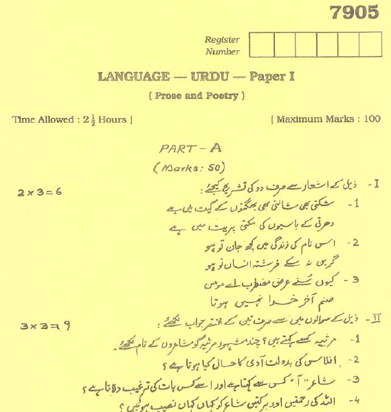 Why is Urdu the official language of Jammu Kashmir and not Kashmiri