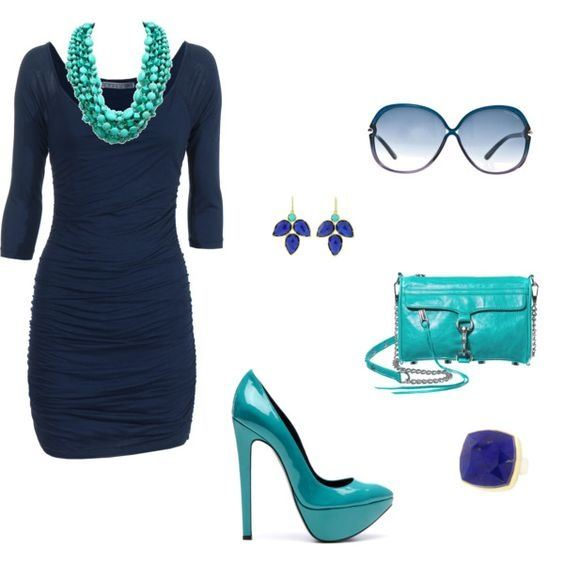 Blue and Accessories