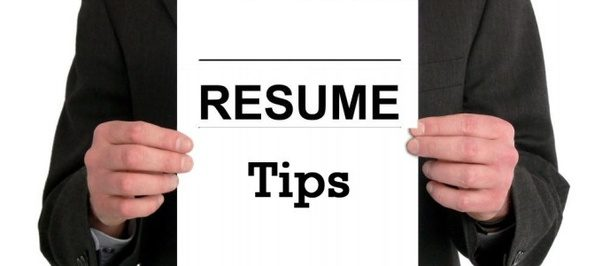 what are the best tips for writing a resume