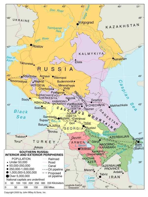 Is Russian Siberia Culturally Similar To Texas With The Fierce - Nalchik map