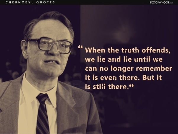 What are some memorable quotes from HBO's Chernobyl? - Quora