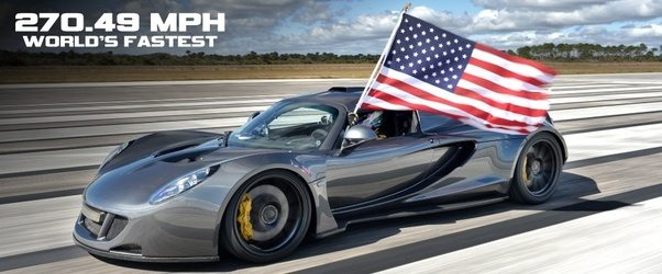 Is, To Put It Nicely, Lacking In Automotive Knowledge. Do You Know What  Country Currently Holds The Record For The Worlds Fastest Production Car?