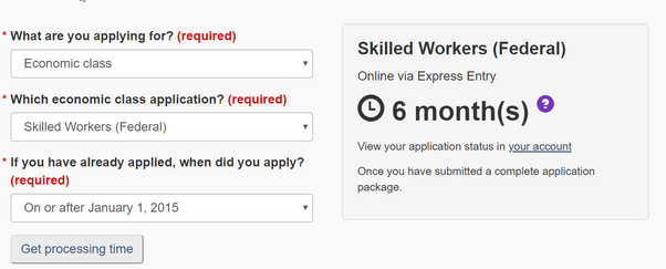 Cic pr card application status