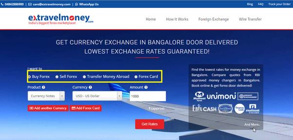 Company For Money Exchange