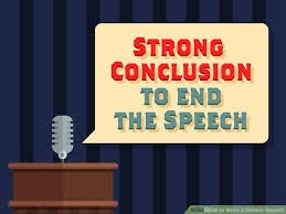 debate closing statement example