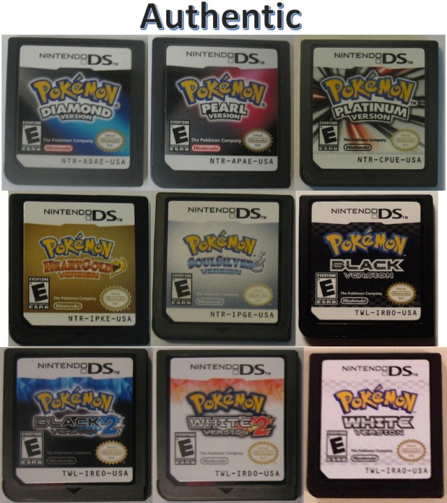 How To Know If Your Ds Pokémon Game Is Legit Copy And Not A Fake Quora
