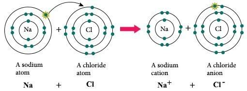 the formation of an ionic bond involves the In an ionic bond, an electron leaves one atom to join another, while a covalent bond is a sharing of electrons between two atoms polar covalent bonds occur when two atoms share an uneven number of electrons.